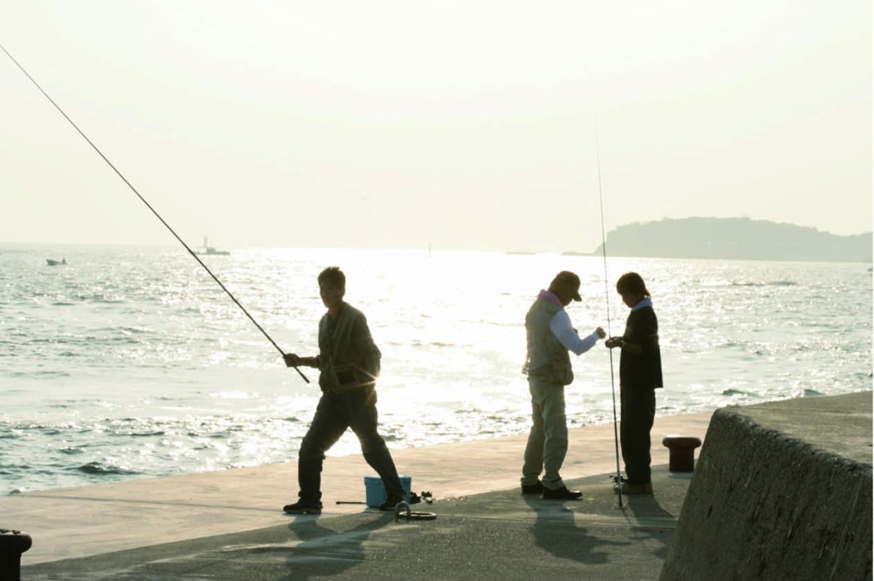 釣り、堤防釣