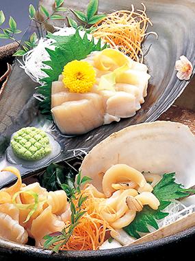 日間賀島のたいらぎ(たいら貝)の写真
