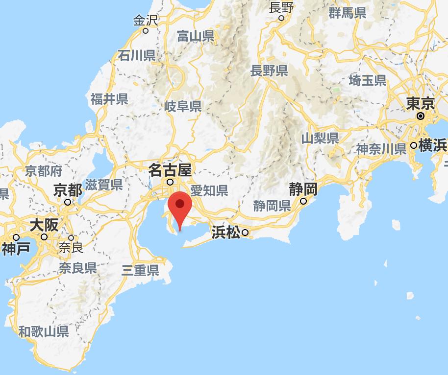 日間賀島の位置